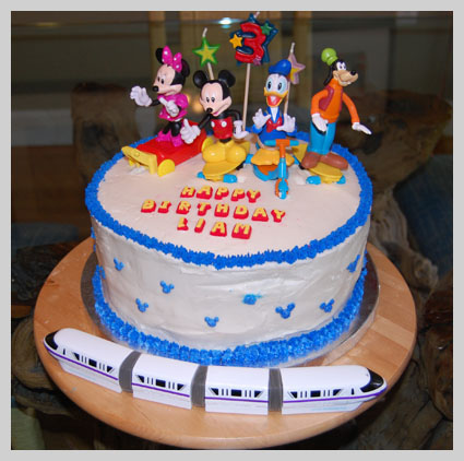 Mickey Mouse Club Cake Decorations