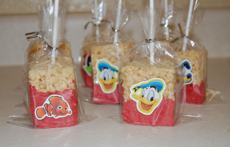 rc5 Rice Krispie Treats Dipped in Chocolate