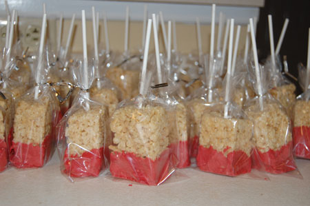 rc7 Rice Krispie Treats Dipped in Chocolate
