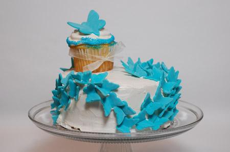 Butterfly Birthday Cake Balancing Motherhood