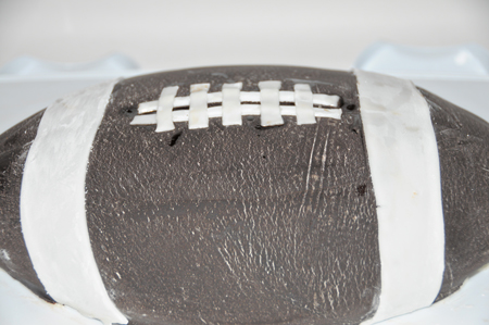 wilton football cake pan instructions