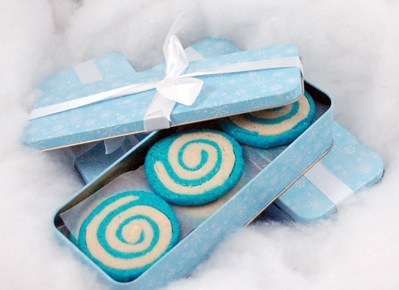 pinwheel sugar cookie