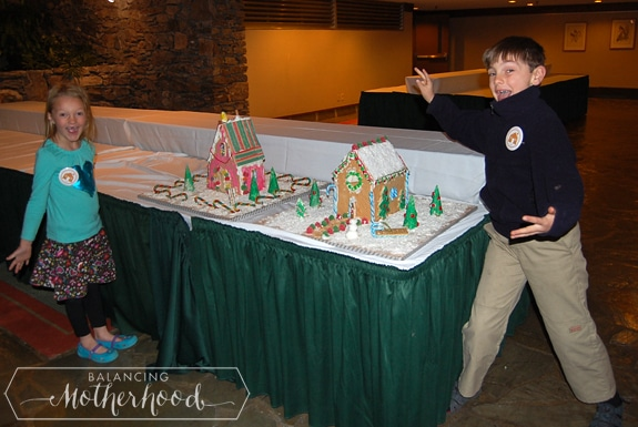gingerbread house made for The Omni Grove Park Inn
