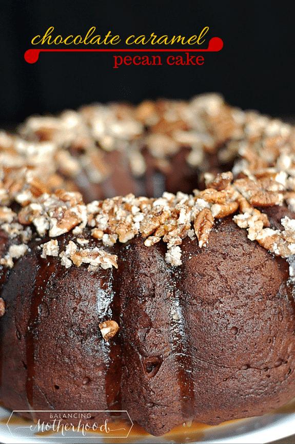 Instant Pot Bundt Cake Mocha
