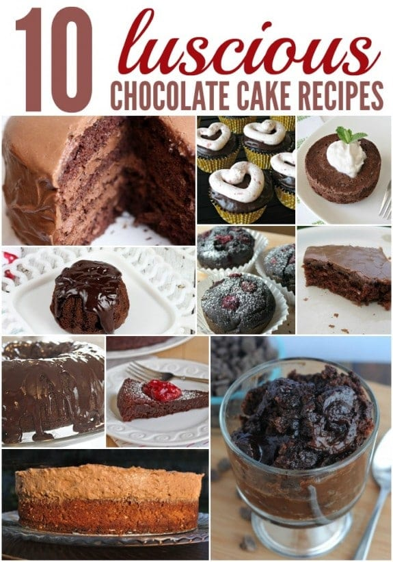 10 Luscious Chocolate Cake Recipes - Balancing Motherhood