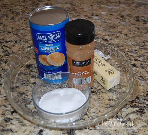 cinnamon donut ingredients