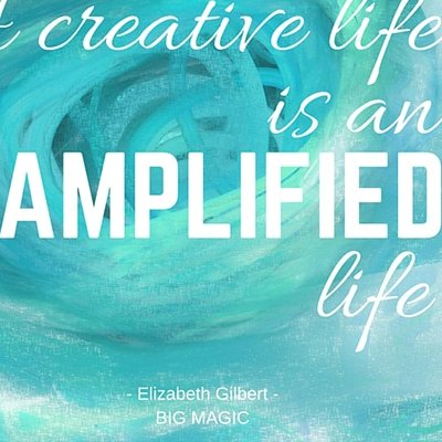 Elizabeth Gilbert's Big Magic Inspires Creatives