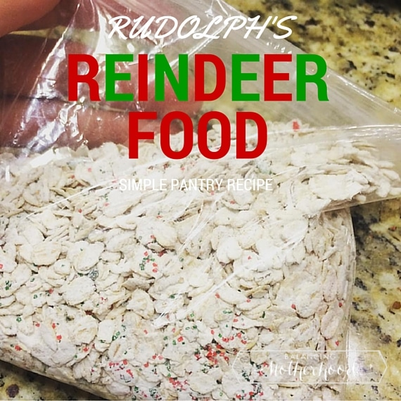 Reindeer food recipe balancing motherhood have you made reindeer food yet rudolph and his friends get pretty hungry on christmas eve this recipe is simple and you can use what you have forumfinder Gallery