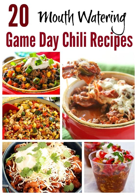 20 Game Day Chili Recipes - Balancing Motherhood