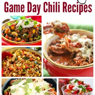 20 Game Day Chili Recipes