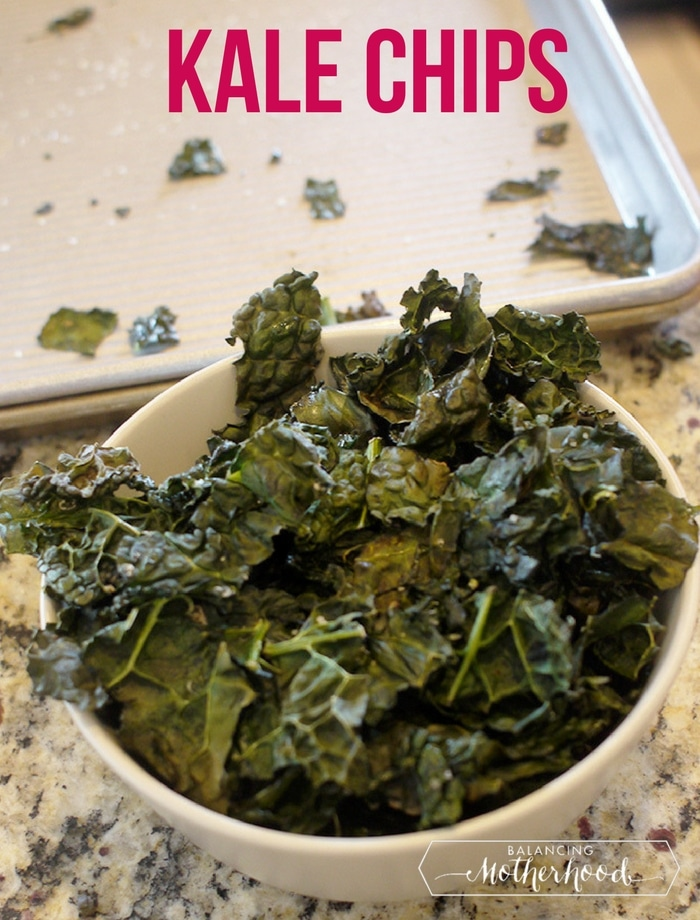 kale chips - easy to make instructions with tips for the perfect kale chip