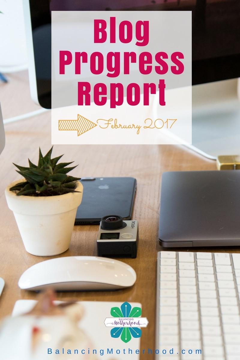 Blog Progress Report - February 2017