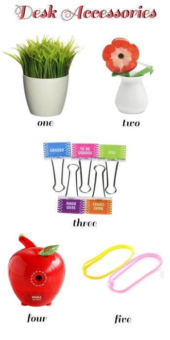 teacher appreciation desk accessories