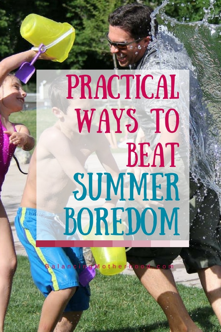 ways to beat summer boredom