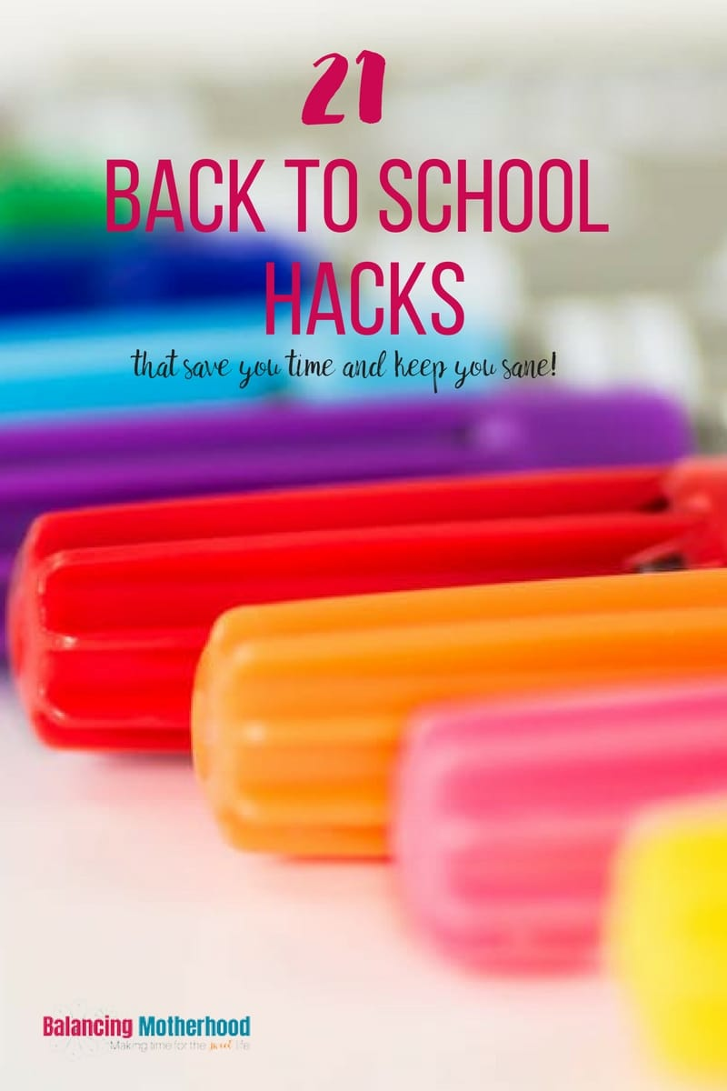 21 back to school hacks