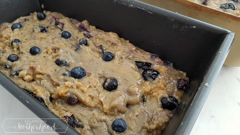 Blueberry Breakfast Bread Process 2