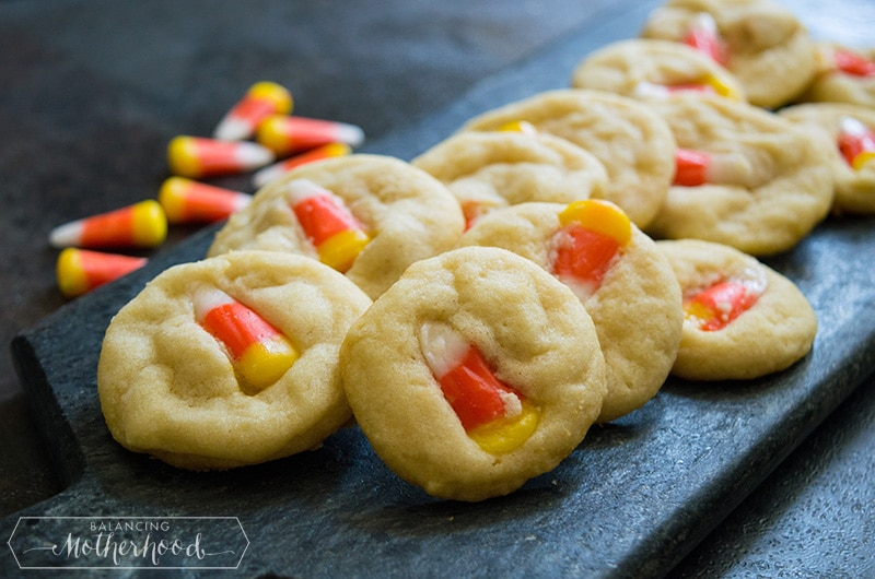 Candy Corn Sugar Cookies 4