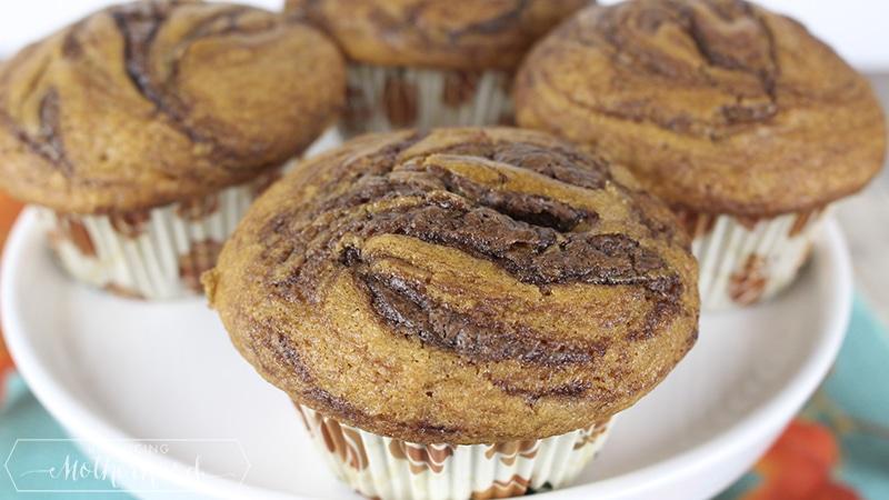 Pumpkin Nutella Muffin 5