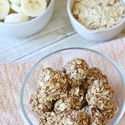 Banana Oat Bites Recipe