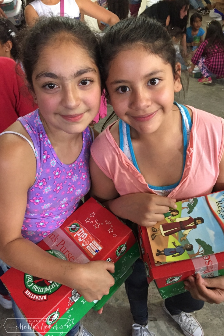 Girls with their presents 3