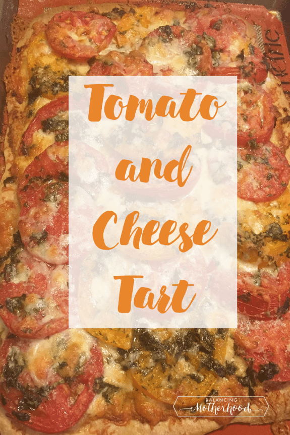 Tomato and Cheese tart recipe. It's a winner with fresh flavors.