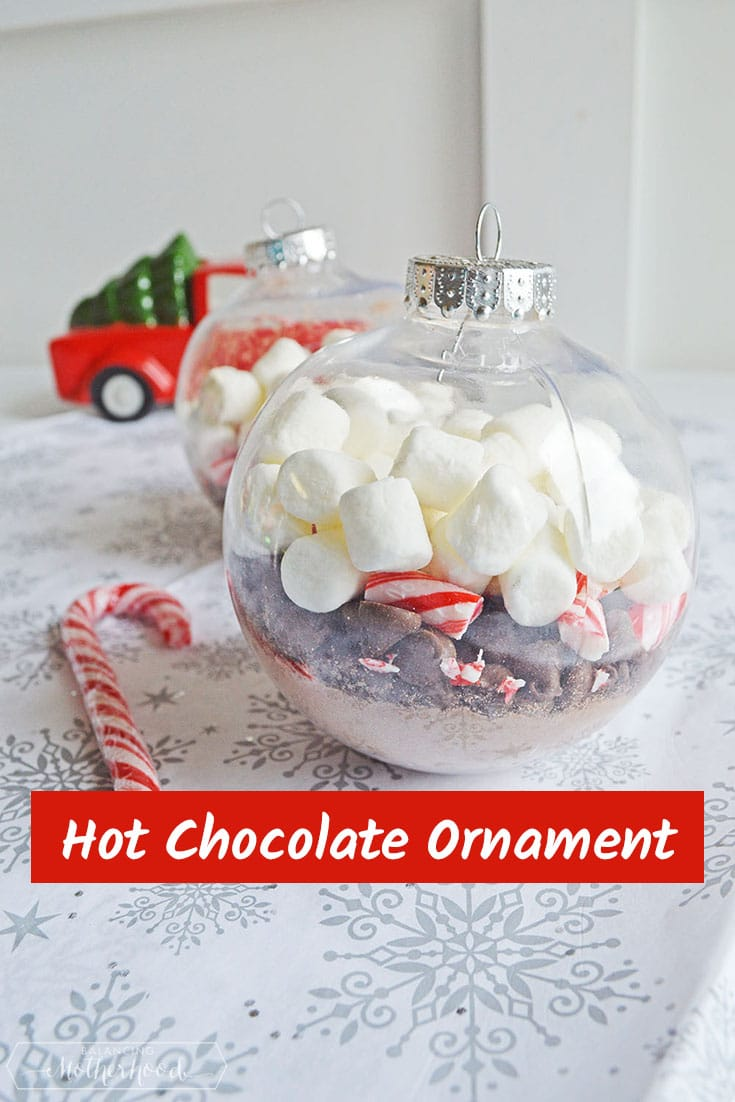 Hot Choco Ornament Pinterest