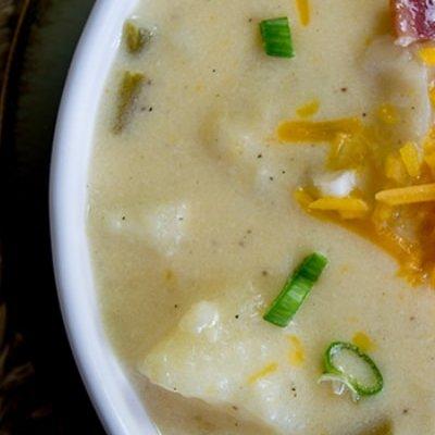 Loaded Potato Soup Recipe