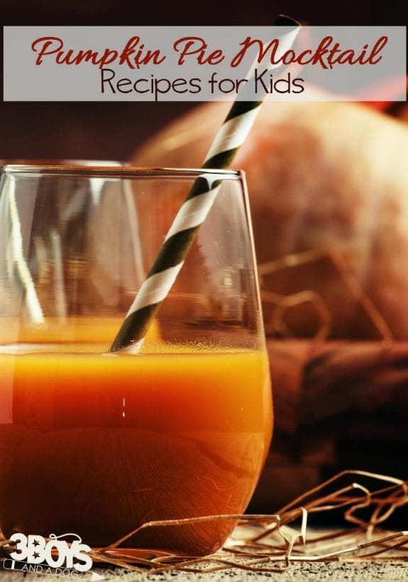 pumpkin pie drink recipe
