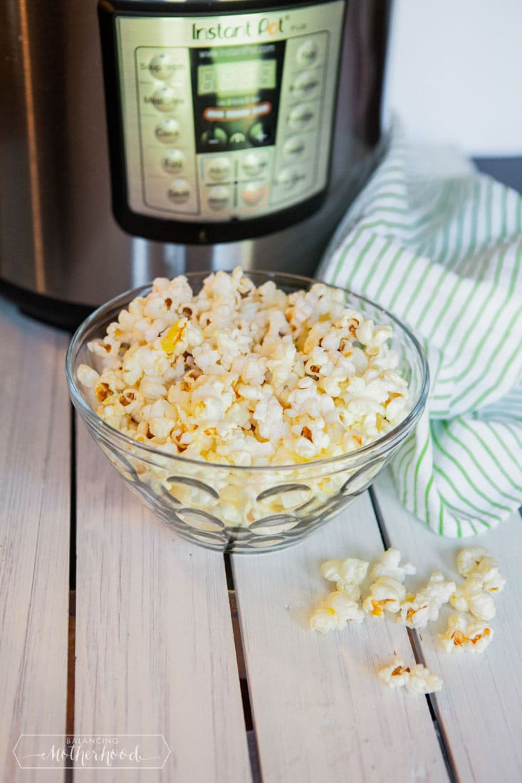 How to make popcorn in the Instant Pot