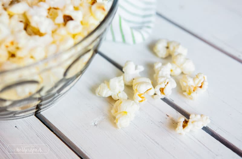 Chill and watch a good movie with this Instant Pot Popcorn recipe.